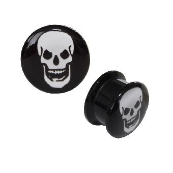 Skull Plug Acryl  (reduziert)