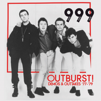 "999 ""Outburst! - Demos & Outtakes 77-79"" LP (lim. 300, black)"