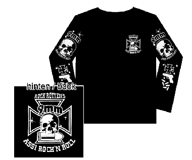 "9mm Assi Rock`n`Roll ""Logo"" Longsleeve"