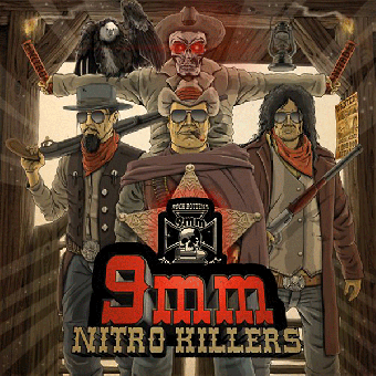 "9mm ""Nitro Killers"" CD (DigiPac)"