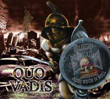 "9mm Assi Rock`n`Roll ""Quo Vadis"" LP (lim. 250)"