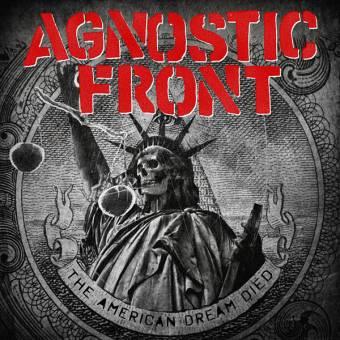 "Agnostic Front ""The american dream died"" LP (black) (+ Alligators MP3)"