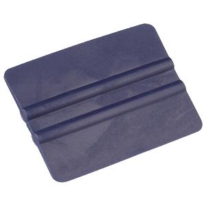 Andrückrakel für Folienaufkleber aus Plastik (blau)