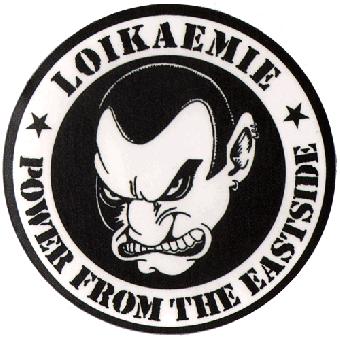 "Loikaemie ""Power from the Eastside"" Aufkleber / sticker (klein) 081"