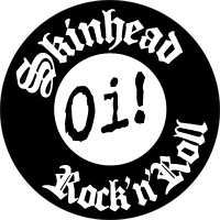 "Skinhead Rock""n""Roll - Button (2,5 cm) 145"