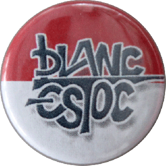 Blanc Estoc (1) - Button (2,5 cm) 157