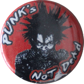 Punk´s not dead - Button (2,5 cm) 256