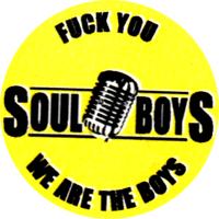 Soul Boys (gelb) - Button (2,5 cm) 300