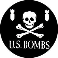 U.S. Bombs (Pirate) - Button (2,5 cm) 303