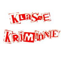Klasse Kriminal (weiss/rot) - Button (2,5 cm) 389