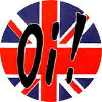 Oi! Union Jack - Button (2,5 cm) 417