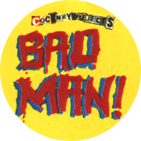 Cockney Rejects Bad Man - Button (2,5 cm) 442