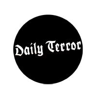 Daily Terror (Schriftzug) - Button (2,5 cm) 457