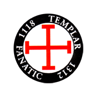 The Templars Fanatic - Button (2,5 cm) 470