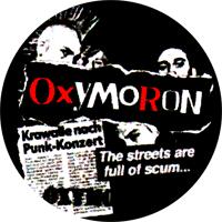 Oxymoron (schwarz) - Button (2,5 cm) 483