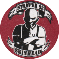 Stomper 98 Skinhead - Button (2,5 cm) 491