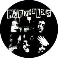 The Partisans (schwarz/weiss) - Button (2,5 cm) 495