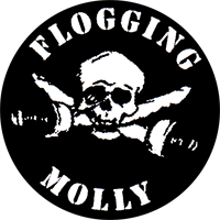 Flogging Molly (Pirate) - Button (2,5 cm) 506