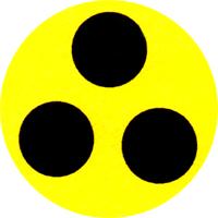 Behindert - Button (2,5 cm) 507