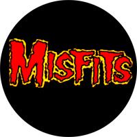 Misfits (Schriftzug) - Button (2,5 cm) 512