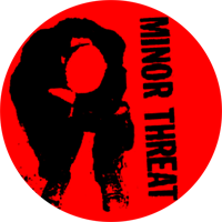 Minor Threat - Button (2,5 cm) 528