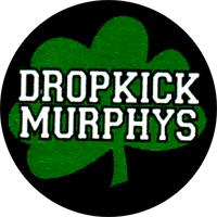 Dropkick Murphys Kleeblatt - Button (2,5 cm) 533