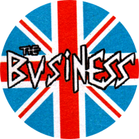 Business (Union Jack) - Button (2,5 cm) 542
