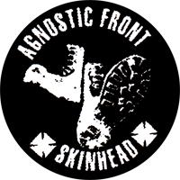 Agnostic Front Skinhead - Button (2,5 cm) 558