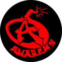 Anarchie (Bombe) - Button (2,5 cm) 560