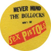 Sex Pistols Never Mind The Bollocks - Button (2,5 cm) 579