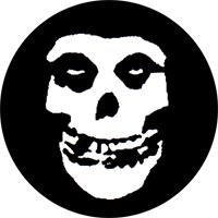 Misfits (Skull) - Button (2,5 cm) 583