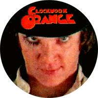 Clockwork Orange (5) - Button (2,5 cm) 599