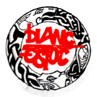 Blanc Estoc - Button (2,5 cm) 628
