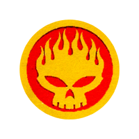 Skull Sun - Button (2,5 cm) 632