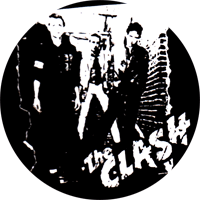 Clash,The (schwarz weiss) - Button (2,5 cm) 646