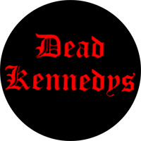 Dead Kennedys (Schrift) - Button (2,5 cm) 656