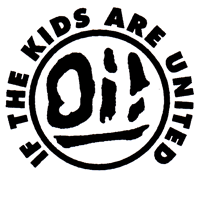 Oi! If The Kids Are United (weiss) - Button (2,5 cm) 659