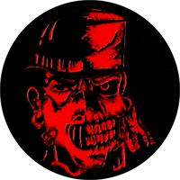 Major Accident (schwarz/rot) - Button (2,5 cm) 660