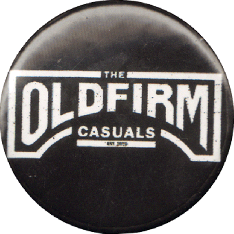 "Old Firm Casuals ""Logo"" Button (2,5 cm) (718)"