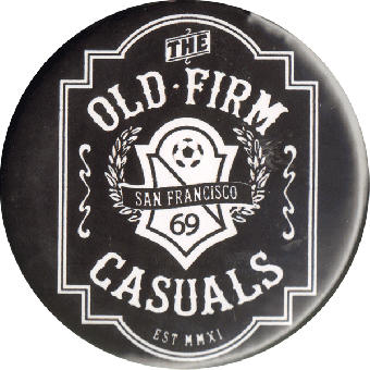"Old Firm Casuals ""Crest"" Button (2,5 cm) (719)"