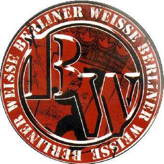 """Berliner Weisse """"Logo"""" PVC Aufkleber / sticker 077"""