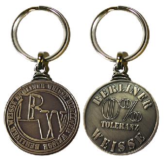 Berliner Weisse - Schlüsselanhänger / keyholder (Metall)