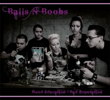Balls`n`Boobs - Good education - Bad reputation CD (DigiPac)