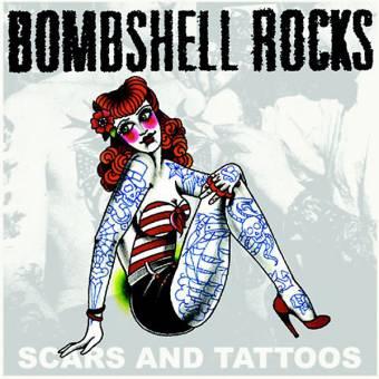 "Bombshell Rocks ""Scars and tattoos"" EP 7"" (lim. 700, orange crush)"