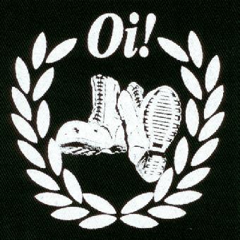 Boots Oi! - Stoffaufnäher (Druck)