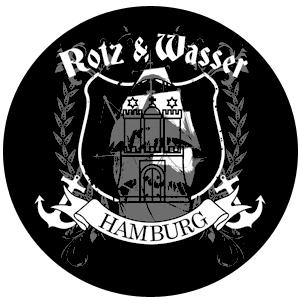 """Rotz & Wasser """"Hamburg"""" - Button (2,5 cm) 172 (NEU)"""