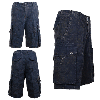 Checkboard Shorts (schwarz/black) (XS)