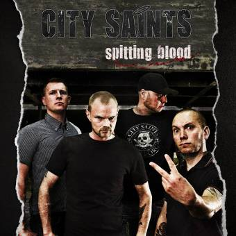 "City Saints ""Spitting Blood"" 7"" EP (lim. 250, colored Vinyl, Download Code)"