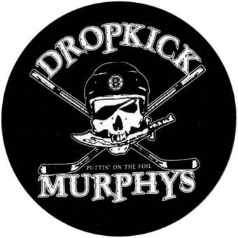 """Dropkick Murphys """"Skull"""" - Aufkleber/ sticker 017"""