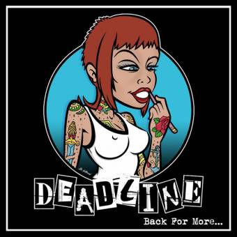 "Deadline ""Back for more..."" LP (lim. 125, blue)"